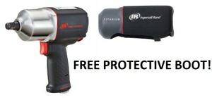Ingersoll Rand Irt 2135qxpa 1 2 Drive Quiet Impact Wrench Gun With Free Boot