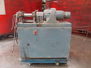 Reliable Rubber Plastic Machinery Horizontal Two Roll Mill Model No 1963