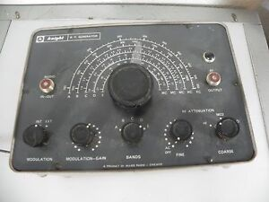 Vintage Knight Rf Signal Generator By Allied Radio Chicago Il