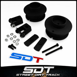 For 14 20 Dodge Ram 2500 Steel 2 5 Front Spacers Lift Kit W Shock Extenders