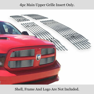 Fits 2013 2018 Ram 1500 Stainless Steel Billet Grille Grill Inserts