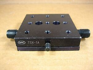 Nrc Newport Tsx 1a Linear Translator Stage 3 X 3