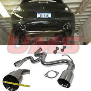 03 05 Dodge Neon Srt 4 2 4l L4 Turbo Dual Racing Muffler Catback Exhaust System