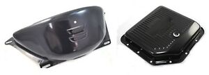Chevy 350 Transmission Pan Flywheel Cover Black Epd Coated New Chevelle Camaro