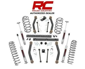 2003 2006 Jeep Tj Wrangler 4wd 4 Rough Country Suspension Lift Kit W n3 90730