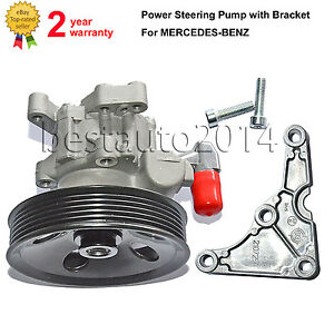 Power Steering Pump Bracket For Mercedes C E M Class Clk Slk 280 320 350 M112