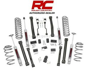 1993 1998 Jeep Zj Grand Cherokee 4wd 4 Rough Country Lift Kit W n3 900 20