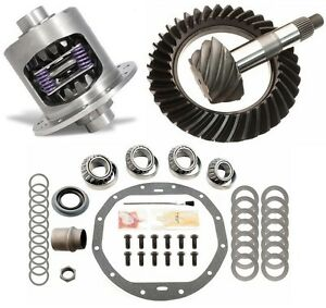 Gm Chevy 12 Bolt Car 4 10 Excel Ring And Pinion 33 Spline Posi Gear Pkg