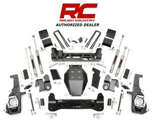 2011 18 Chevrolet Gmc 2500 3500 Hd 7 5 Rough Country Suspension Lift Kit 253x
