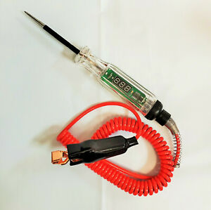 Electric Circuit Tester Test Light Car Circuit Tester 12v 24v Auto Truck Tester