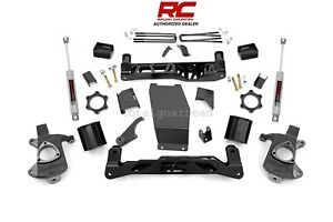 2014 2017 Chevrolet Gmc 1500 4wd 5 Rough Country Lift Kit Cast Steel 223 20