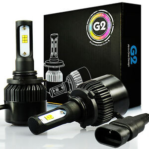 Jdm Astar G2 9006 Hb4 8000lm White Csp Led Headlight High low Beam Bulbs 6500k
