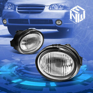 Chrome Clear Jdm Driving Fog Light lamp For 2002 2003 Nissan Maxima A33