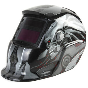Transforme Solar Auto Darkening Welding Helmet Tig Mig Welder Lens Mask Usa Sell