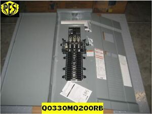 low Price New Square D Qo330mq200rb Panel Outdoor 3r 200a Main Breaker