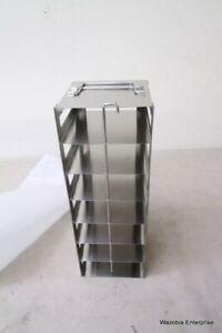 Stainless Steel Laboratory Freezer Rack Cryogenic 5 5 X5 5 x15 5