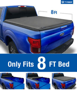 2009 2014 Ford F 150 8ft Bed Tyger T1 Roll Up Tonneau Cover
