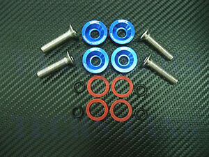Werkz Blue Valve Cover Washers Kit For Integra Gsr And V Tec Civic 99 00 Si