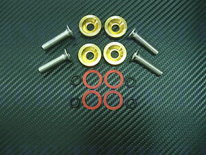 Werkz Gold Valve Cover Washers Kit For Integra Gsr And V Tec Civic 99 00 Si