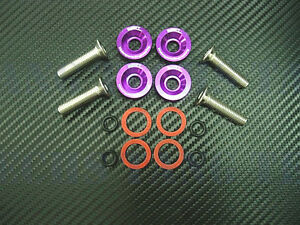 Werkz Purple Valve Cover Washers Kit For Integra Gsr V Tec Civic 99 00 Si