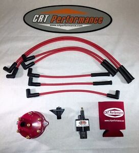 Jeep Grand Cherokee 4 0l Ignition Tune Up Kit 1994 1997 Red Cap