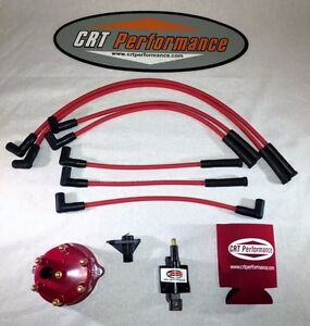 Jeep Grand Cherokee 4 0l 45k Ignition Upgrade Kit 1998 1999 Red Cap
