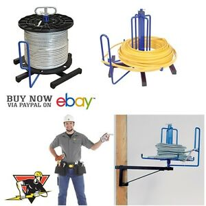 Madison Electric Cable Reel Entry Wire Spool Racks Electrician Tools Puller Keep