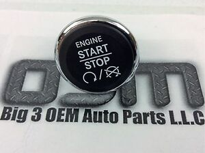 Dodge Challenger Jeep Commander Push To Start Ignition Switch Button New Oem