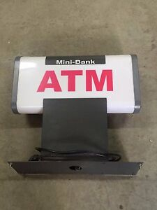 Atm Mini Bank 2100 Topper Lighted Sign