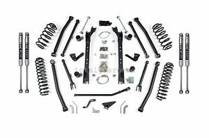 1997 2006 Jeep Tj Wrangler 4 5 Bds Long Arm Lift Kit W Nx2 Shocks 477h