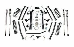 1997 2006 Jeep Tj Wrangler 4 5 Bds Long Arm Lift Kit Fox Shocks 477h