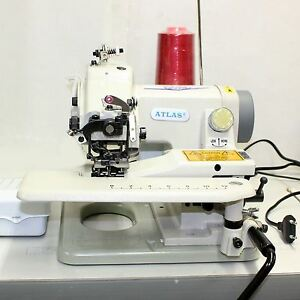 Portable Blindstitch Sewing Machine With Skip Stitch Atlasusa At500 1