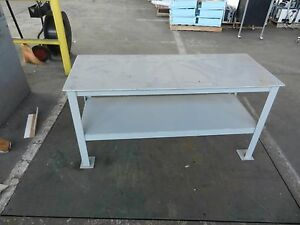 Steel Work Bench 1 4 Steel Legs 2049wvs