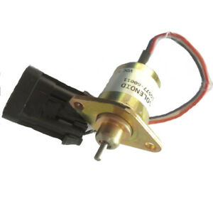 Fuel Shut Off Solenoid Switch Fits Bobcat Skid Steer Loader S300 S330 S220 S250