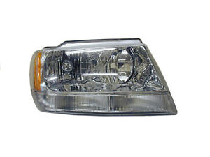 Head Light For Jeep Grand Cherokee Wj Wg 06 99 On Right Hand Side