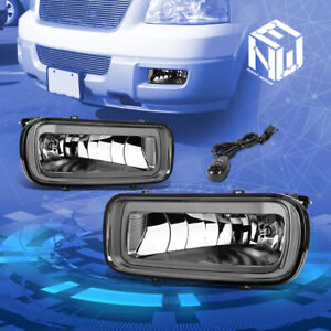 Smoke Tinted Front Driving Fog Light Lamp Switch For 2004 2006 Ford F150 Mark Lt