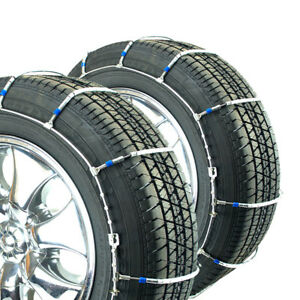 Titan Passenger Cable Tire Chains Snow Or Ice Covered Road 245 45 17
