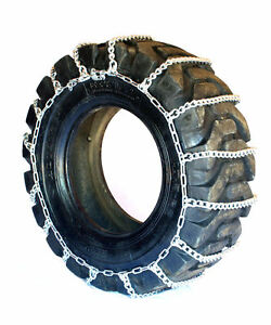 Titan Light Truck Link Tire Chains On Road Snow Ice 7mm 33x12 50 20