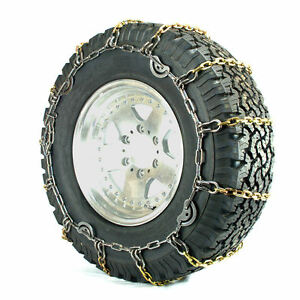 Titan Truck Alloy Square Link Tire Chains Cam On Road Icesnow 7mm 37x12 50 17