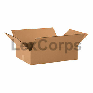 25 Qty 20x14x4 Shipping Boxes Lc Mailing Moving Cardboard Storage Packing