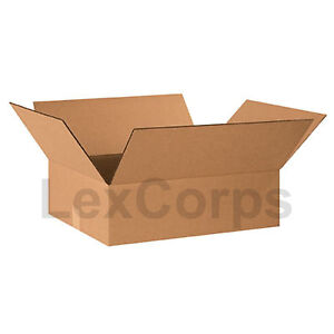 25 Qty 20x15x6 Shipping Boxes Lc Mailing Moving Cardboard Storage Packing