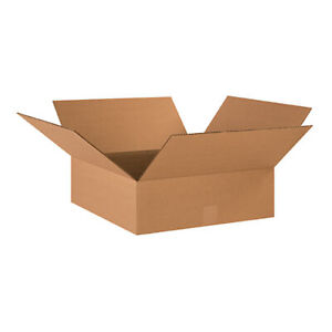 25 Qty 18x18x6 Shipping Boxes Lc Mailing Moving Cardboard Storage Packing