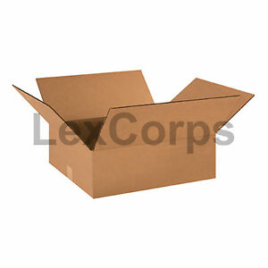 25 Qty 18x16x6 Shipping Boxes Lc Mailing Moving Cardboard Storage Packing