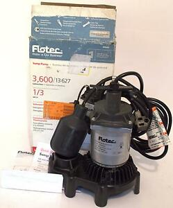 Flotec 1 4hp Sump Pump W Float Switch Submersible Water Pump