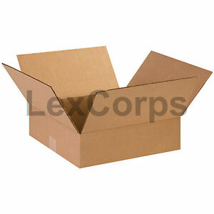 25 Qty 14x14x4 Shipping Boxes Lc Mailing Moving Cardboard Storage Packing
