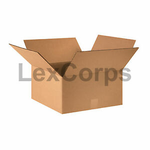 25 Qty 16x16x8 Shipping Boxes Lc Mailing Moving Cardboard Storage Packing