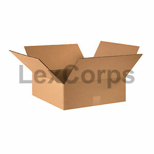 25 Qty 16x16x5 Shipping Boxes Lc Mailing Moving Cardboard Storage Packing