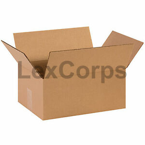 25 Qty 14x10x6 Shipping Boxes Lc Mailing Moving Cardboard Storage Packing