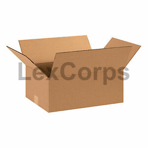 25 Qty 15x11x6 Shipping Boxes Lc Mailing Moving Cardboard Storage Packing
