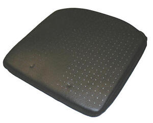 Luxury Wedge Car Seat Cushion Leather Look Improves Height Posture